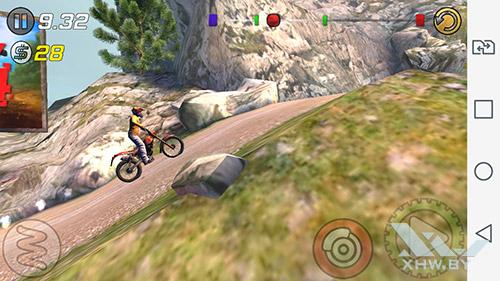 Игра Trial Xtreme 3 на LG Magna