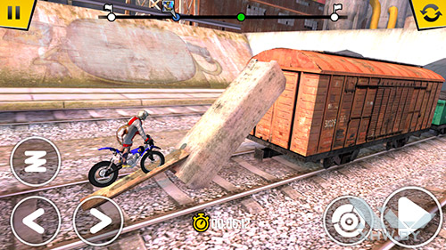 Игра Trial Xtreme 4 на LG Magna