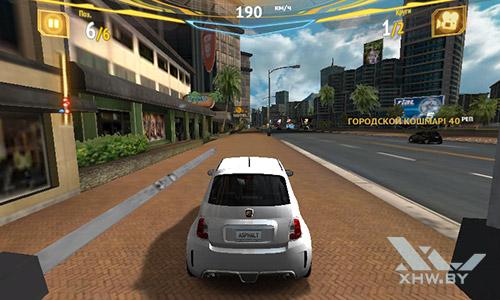 Игра Asphalt 7 на Samsung Galaxy J1