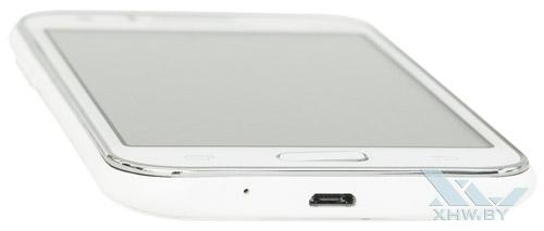 Нижний торец Samsung Galaxy J1