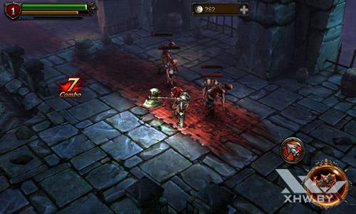 Игра Eternity Warriors 2 на Samsung Galaxy J1