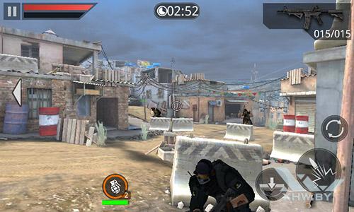 Игра Frontline Commando 2 на Samsung Galaxy J1