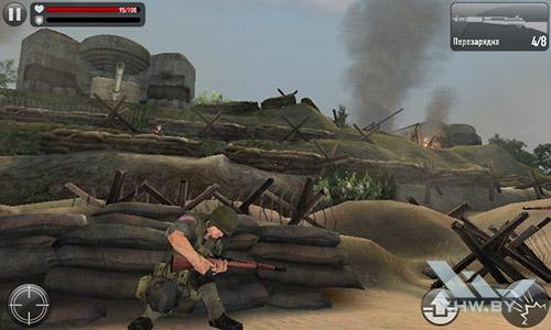 Игра Frontline Commando: Normandy на Samsung Galaxy J1