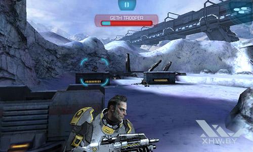 Игра Mass Effect: Infiltrator на Samsung Galaxy J1