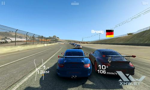 Игра Real Racing 3 на Samsung Galaxy J1