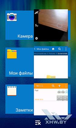 Последние приложения на Samsung Galaxy J1