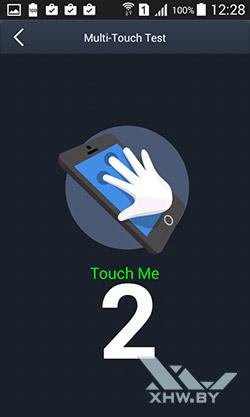 Экран Samsung Galaxy J1 распознает 2 касания