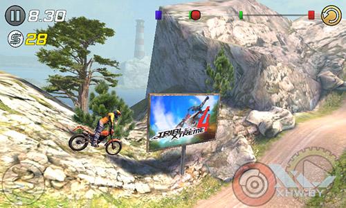 Игра Trial Xtreme 3 на Samsung Galaxy J1