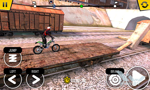 Игра Trial Xtreme 4 на Samsung Galaxy J1