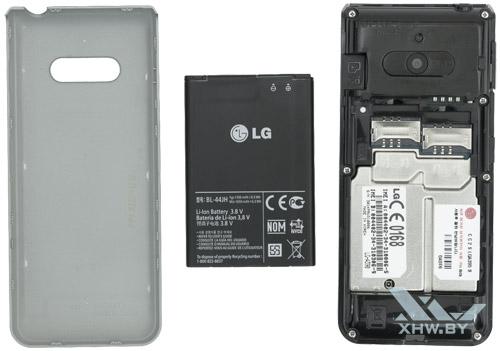 Внутри LG A390
