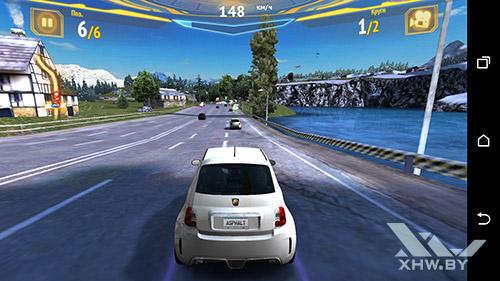 Игра Asphalt 7 на HTC One M9