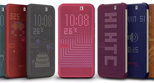 Чехол Dot View 2.0 для HTC One M9