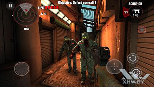 Игра Dead Trigger на HTC One M9