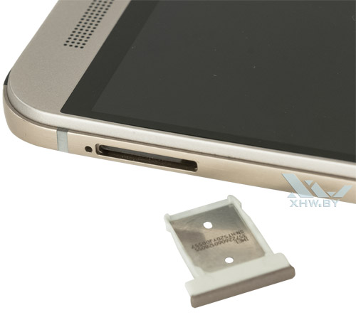 Отсек для SIM-карты на HTC One M9