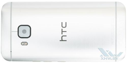 HTC One M9. Вид сзади