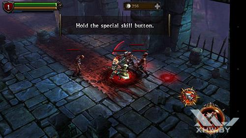 Игра Eternity Warriors 2 на HTC One M9