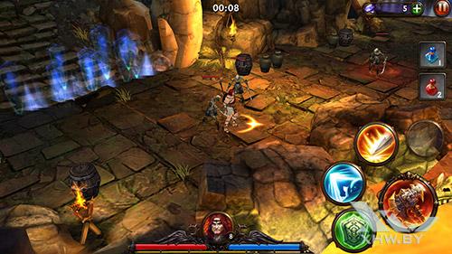 Игра Eternity Warriors 3 на HTC One M9