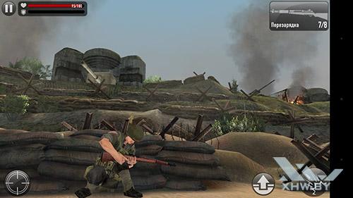 Игра Frontline Commando: Normandy на HTC One M9