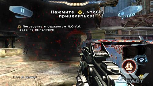 Игра N.O.V.A. 3 на HTC One M9
