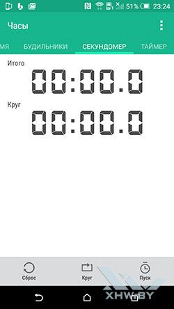Приложения Часы на HTC One M9. Рис. 3
