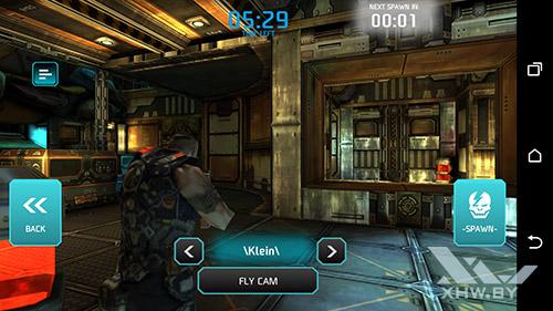 Игра Shadowgun: Dead Zone на HTC One M9