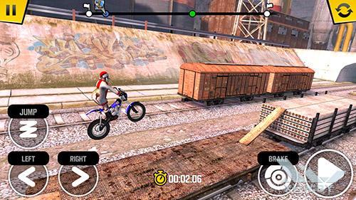 Игра Trial Xtreme 4 на HTC One M9