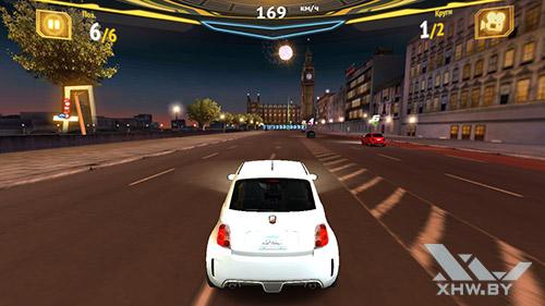 Игра Asphalt 7 на Samsung Galaxy J5