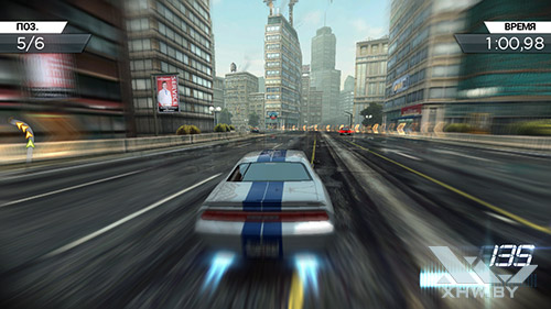 Игра Need For Speed: Most Wanted на Samsung Galaxy J5