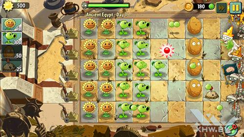 Игра Plants vs Zombies 2 на Samsung Galaxy J5