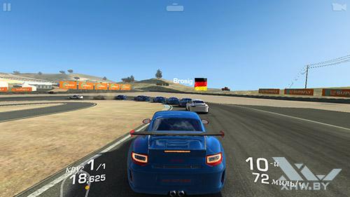Игра Real Racing 3 на Samsung Galaxy J5