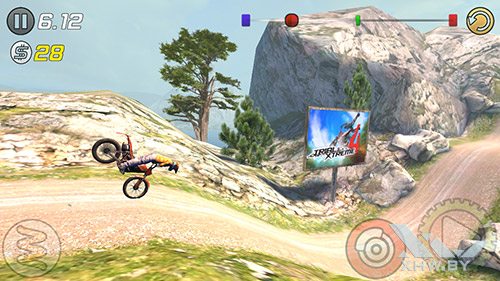 Игра Trial Xtreme 3 на Samsung Galaxy J5