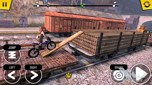 Игра Trial Xtreme 4 на Samsung Galaxy J5