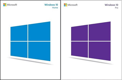 Коробки Windows 10 на USB-накопителе