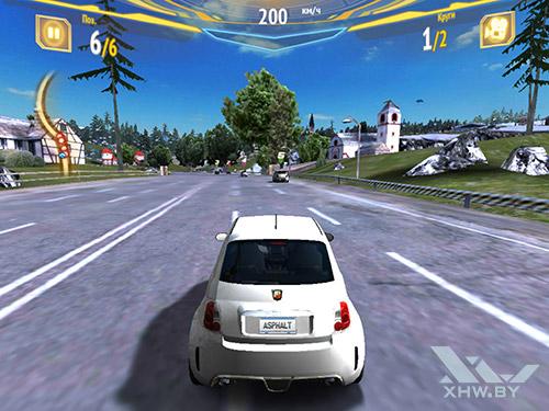 Игра Asphalt 7 на Samsung Galaxy Tab S2