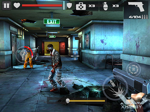 Игра Dead Target на Samsung Galaxy Tab S2