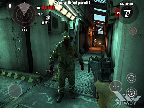 Игра Dead Trigger на Samsung Galaxy Tab S2