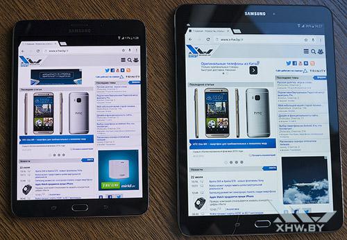 Samsung Galaxy Tab S2 8.0 и Samsung Galaxy Tab S2 9.7