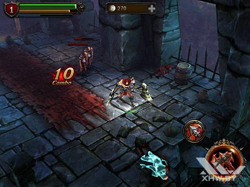Игра Eternity Warriors 2 на Samsung Galaxy Tab S2
