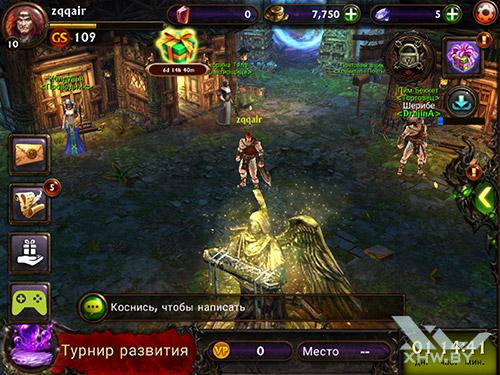 Игра Eternity Warriors 3 на Samsung Galaxy Tab S2