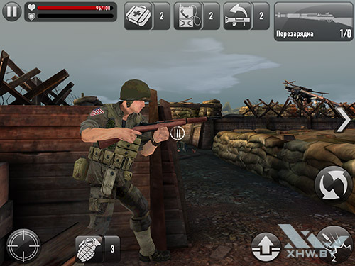 Игра Frontline Commando: Normandy на Samsung Galaxy Tab S2