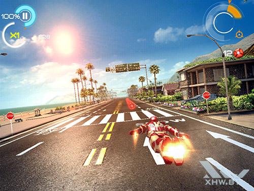 Игра Железный человек 3 на Samsung Galaxy Tab S2
