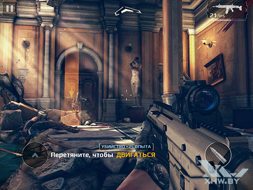 Игра Modern Combat 5: Blackout на Samsung Galaxy Tab S2