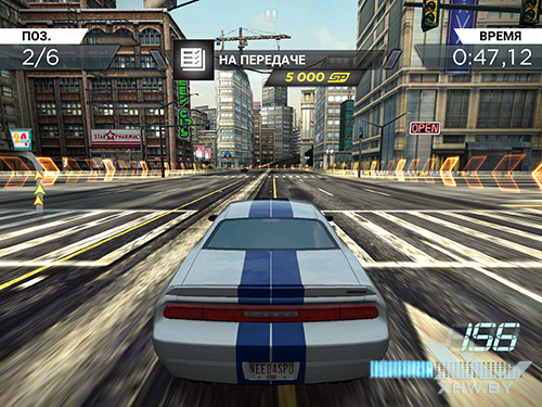Игра Need For Speed: Most Wanted на Samsung Galaxy Tab S2