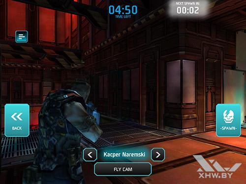 Игра Shadowgun: Dead Zone на Samsung Galaxy Tab S2