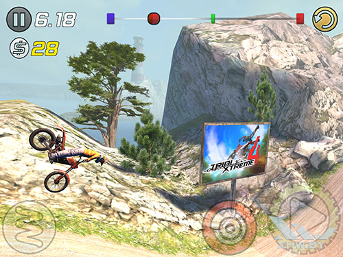 Игра Trial Xtreme 3 на Samsung Galaxy Tab S2