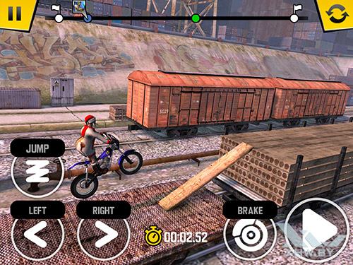 Игра Trial Xtreme 4 на Samsung Galaxy Tab S2