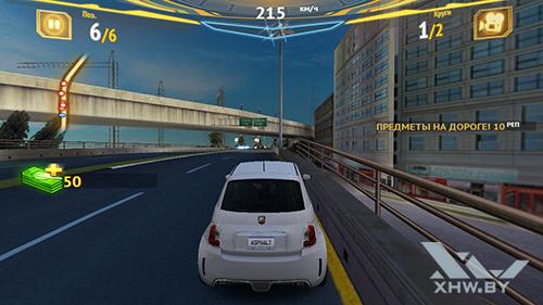 Игра Asphalt 7 на Samsung Galaxy J7