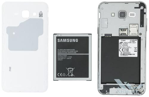 Внутри Samsung Galaxy J7