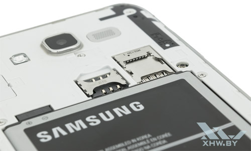 Разъемы Samsung Galaxy J7