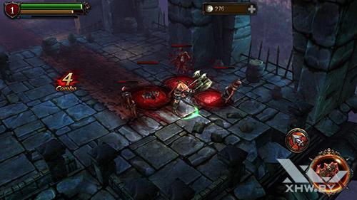 Игра Eternity Warriors 2 на Samsung Galaxy J7